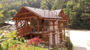 výstavba chata Domaša 2