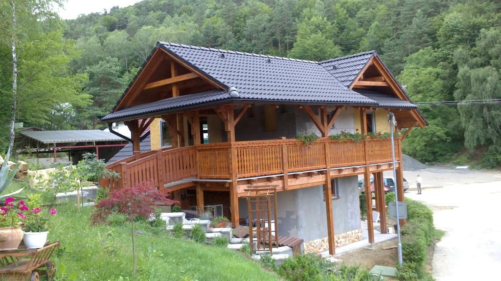 výstavba chata Domaša 3