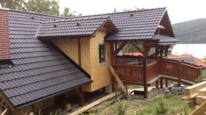 výstavba chata Domaša 4