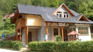 výstavba chata Domaša 5
