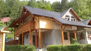 výstavba chata Domaša 6