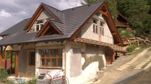 výstavba chata Domaša 7